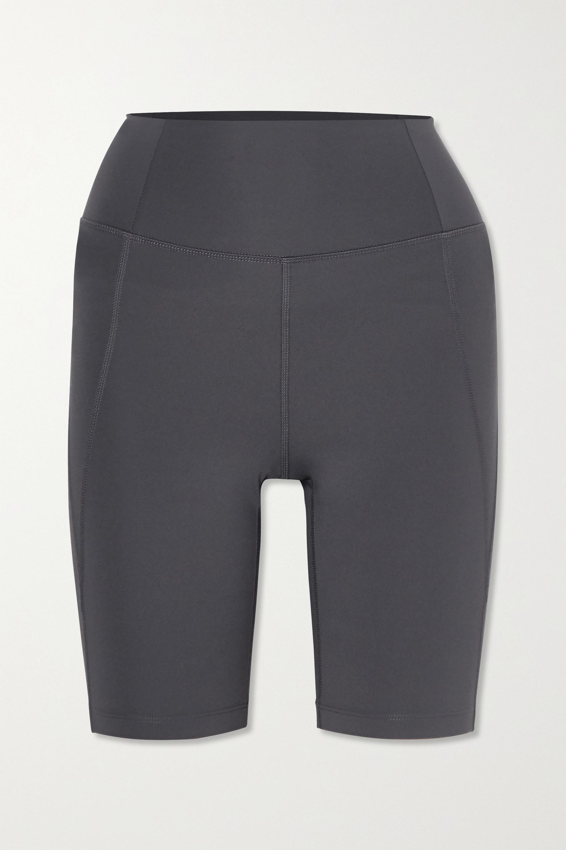 Girlfriend Collective + NET SUSTAIN Bike stretch shorts