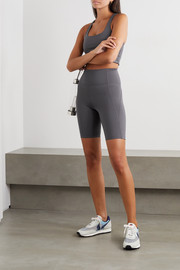 Girlfriend Collective + NET SUSTAIN Bike stretch shorts
