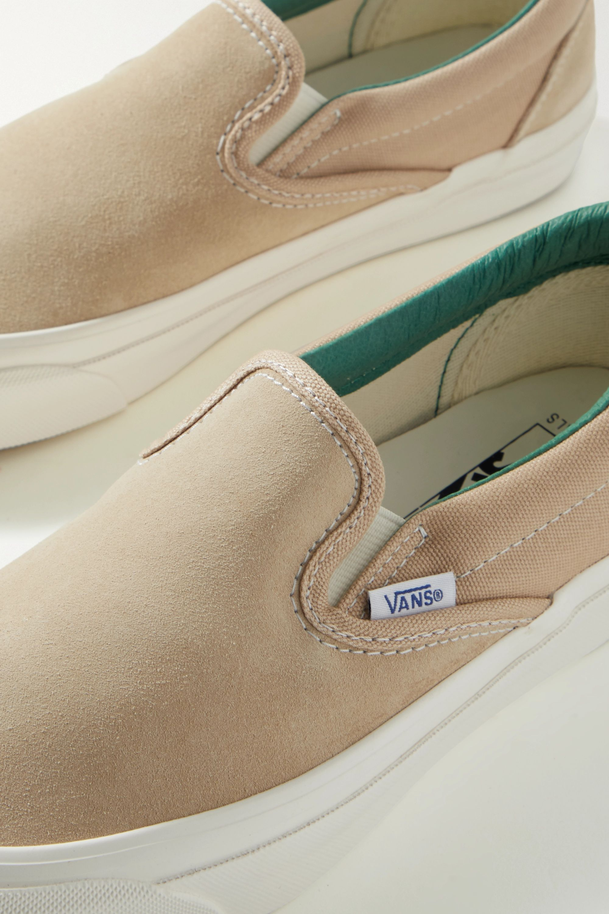 OG Classic LX suede and canvas slip-on