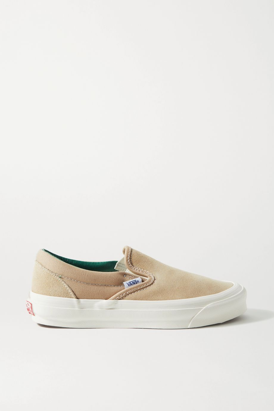 Vans OG Classic LX suede and canvas slip-on sneakers