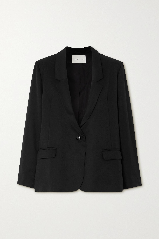 King & Tuckfield Wool-twill blazer