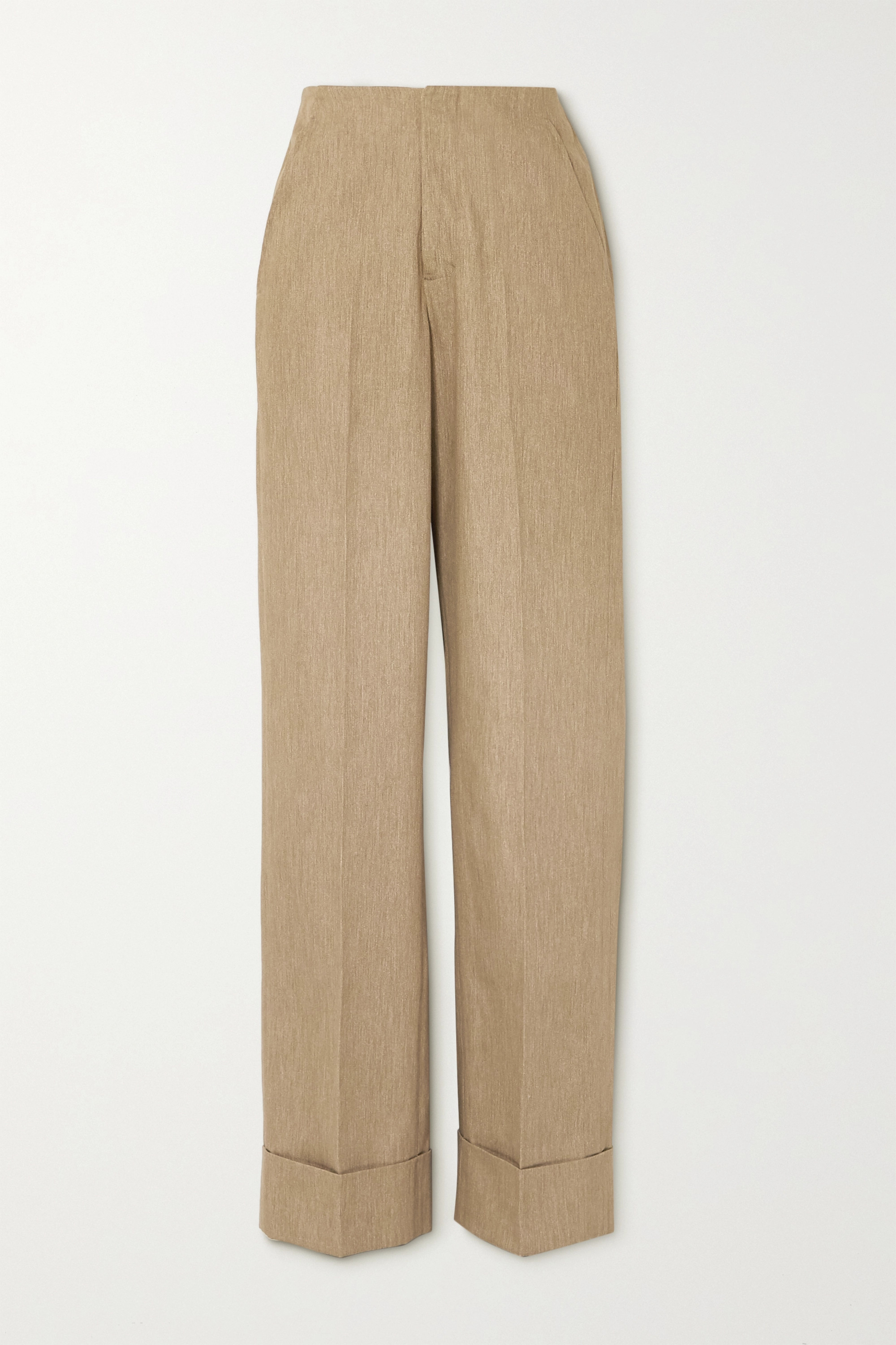 King & Tuckfield Cotton wide-leg pants