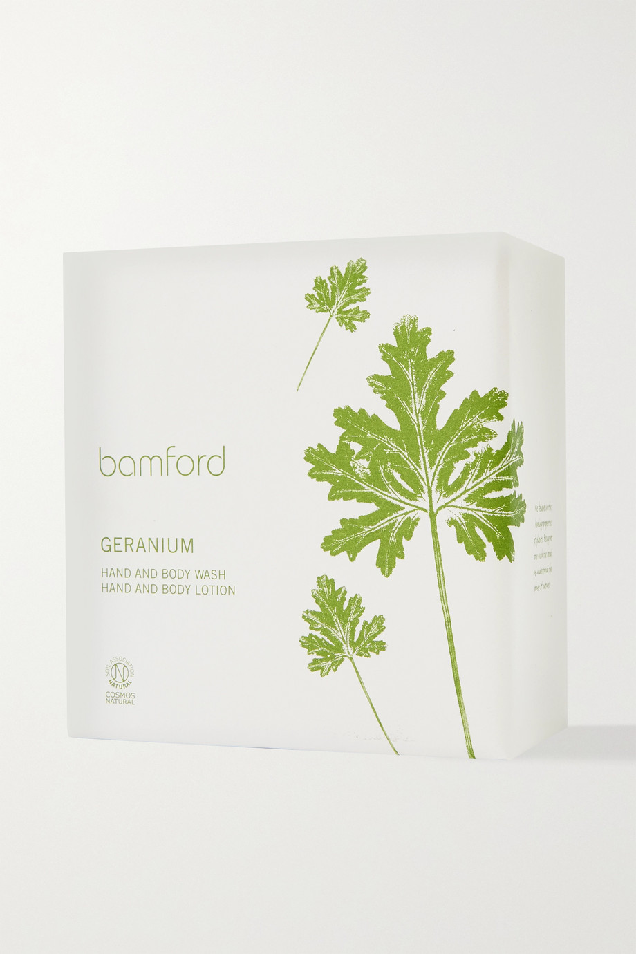 Bamford Geranium Duo – Pflegeset