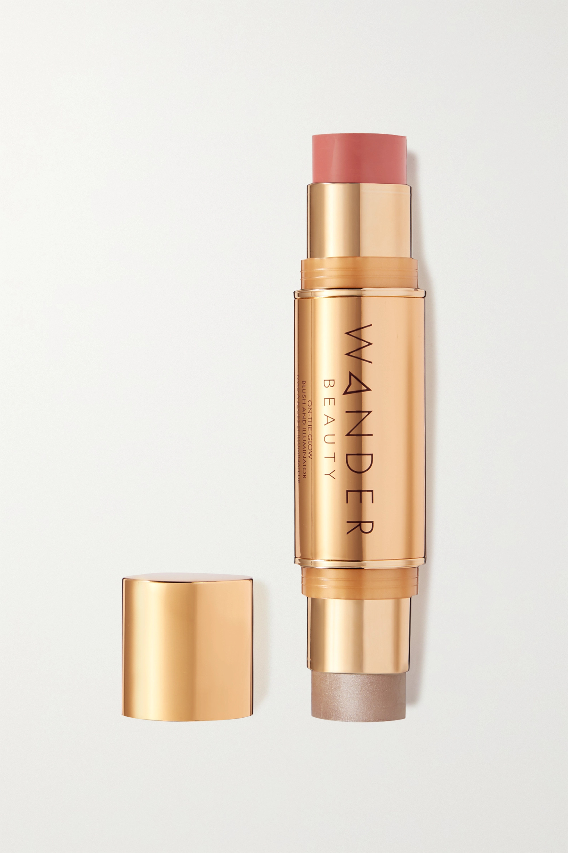Wander Beauty On-the-Glow Blush and Illuminator - Coral Rose