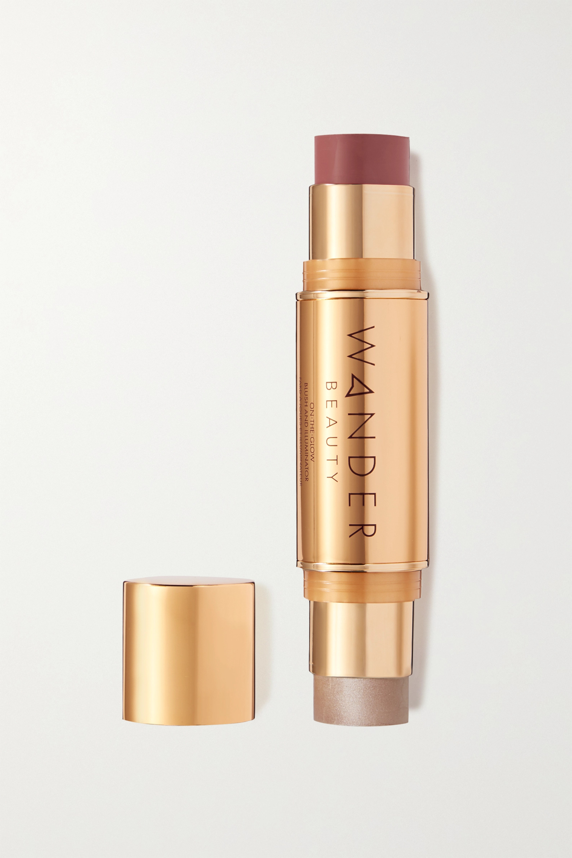 Wander Beauty On-the-Glow Blush and Illuminator - Berry Whisper