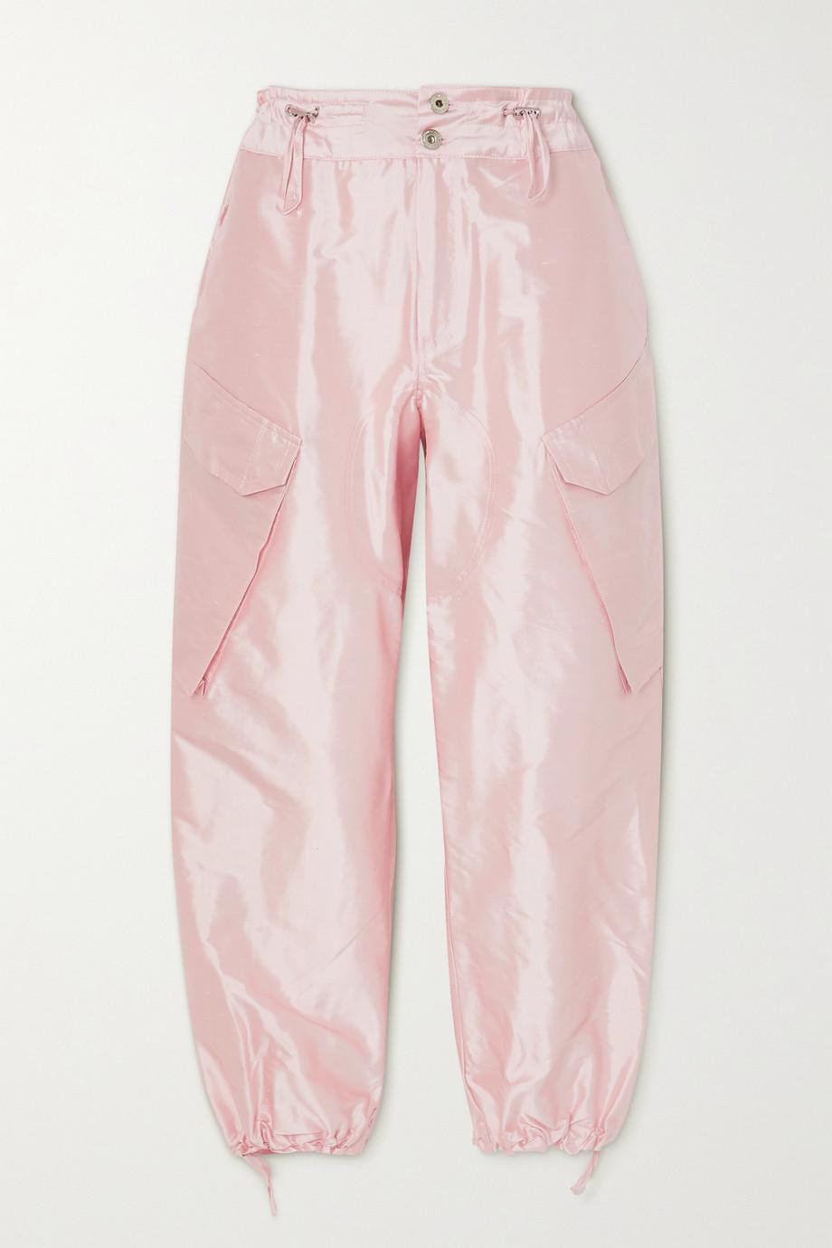 Marques' Almeida Silk-satin cargo pants