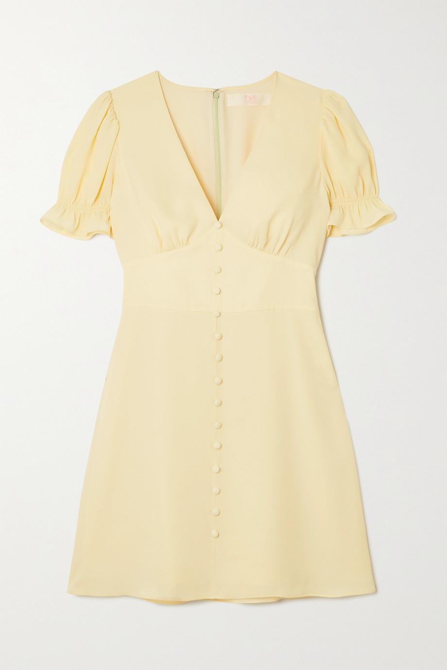 TVF Cupcake crepe de chine mini dress