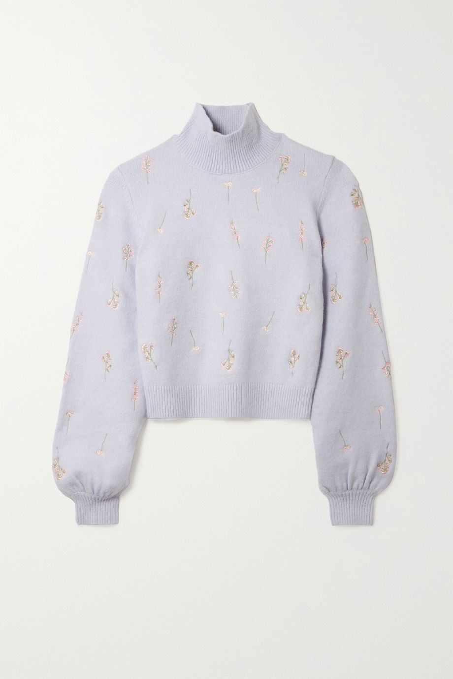 TVF Pumpkin embroidered knitted sweater