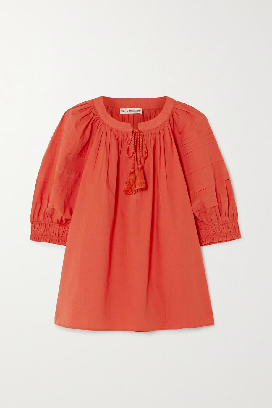 Ulla Johnson Arin tasseled cotton top