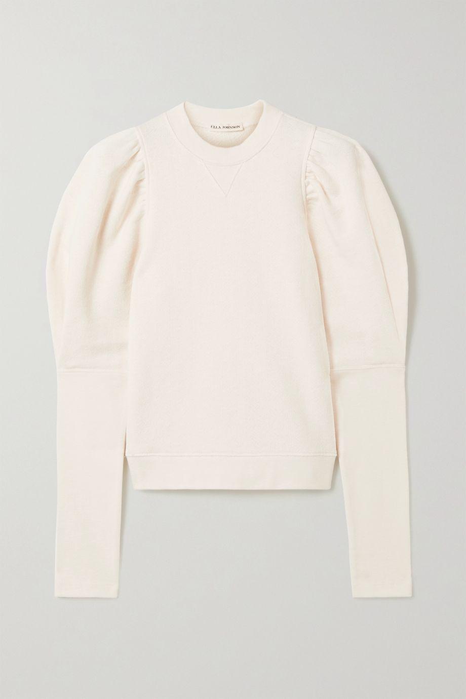 Ulla Johnson Philo cotton-jersey sweatshirt