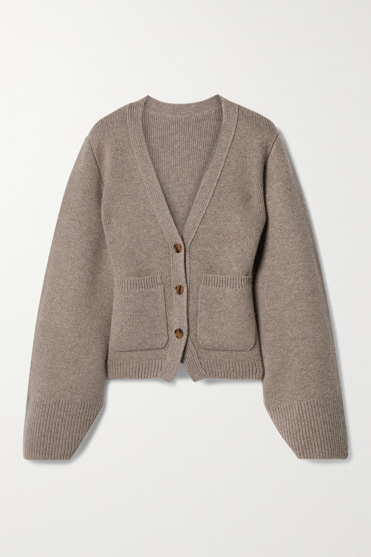 Khaite Scarlet cashmere-blend cardigan