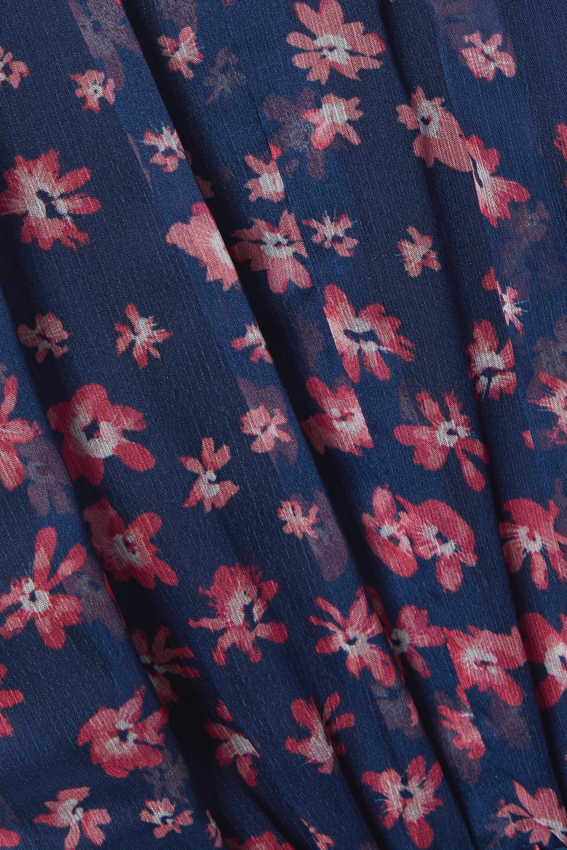Jason Wu Shirred floral-print chiffon dress