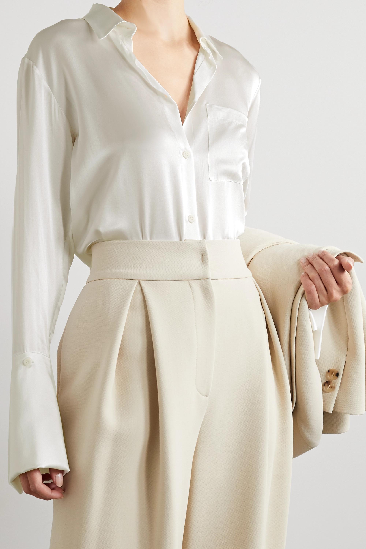 BITE Studios + NET SUSTAIN organic silk-satin shirt
