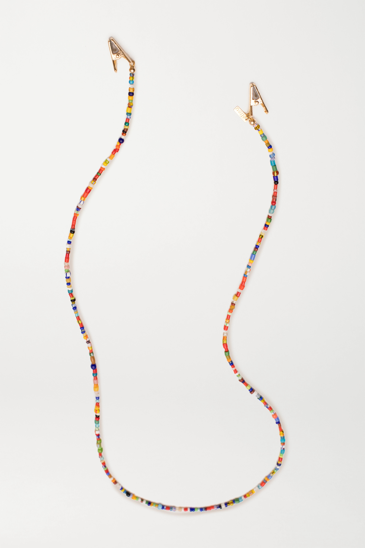 éliou Gold-plated bead sunglasses chain