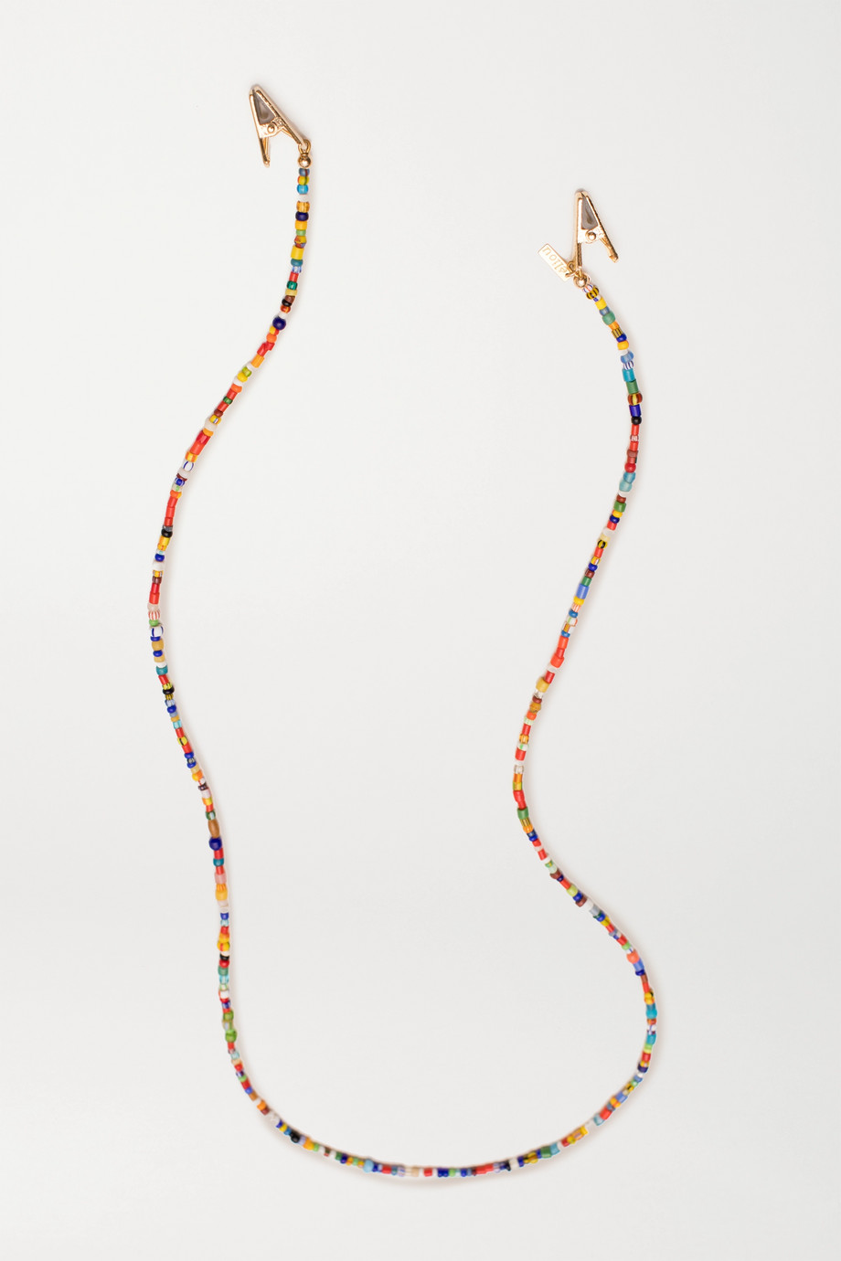 éliou Gold-plated bead sunglasses chain