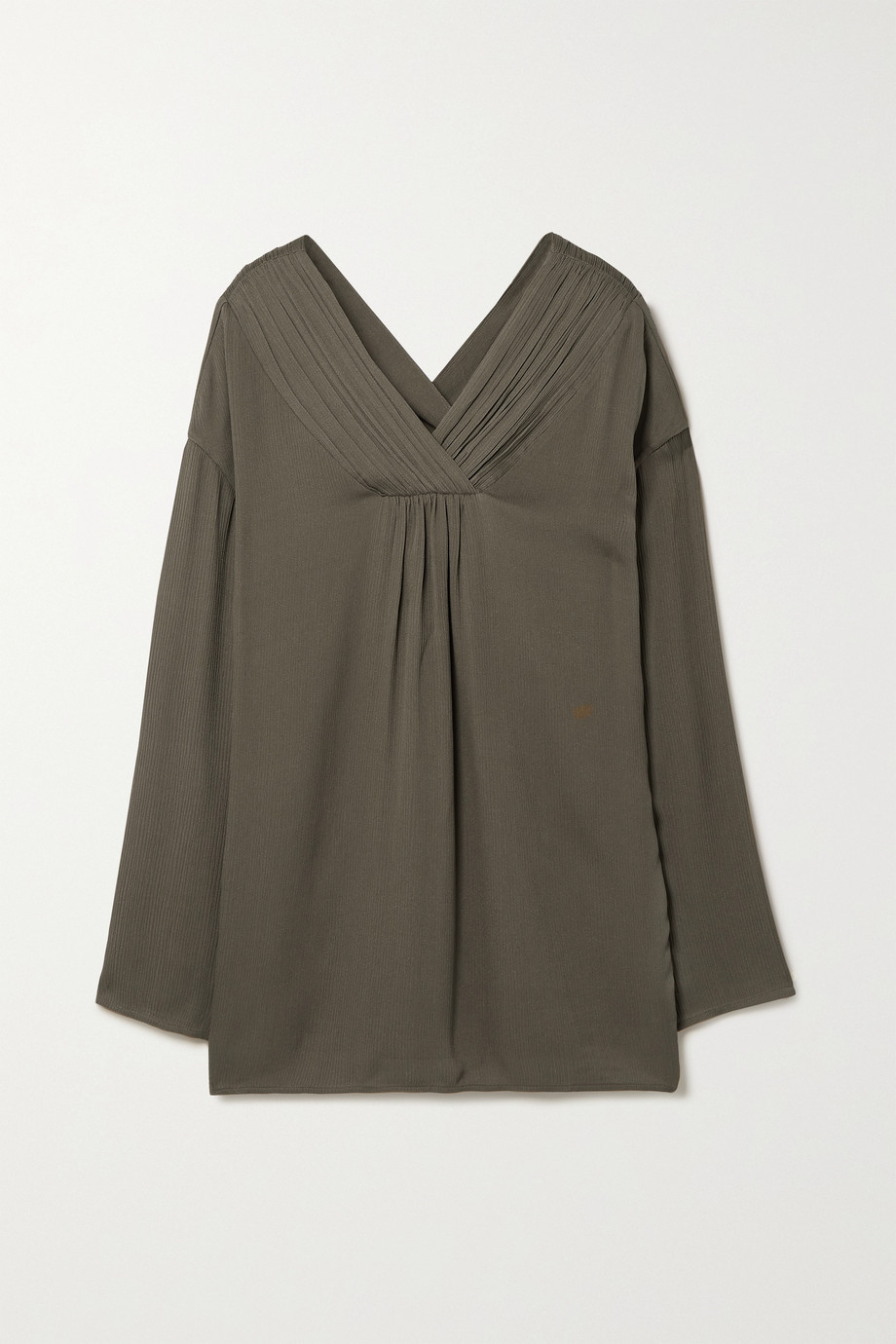 TOVE Marnie silk-crepon top