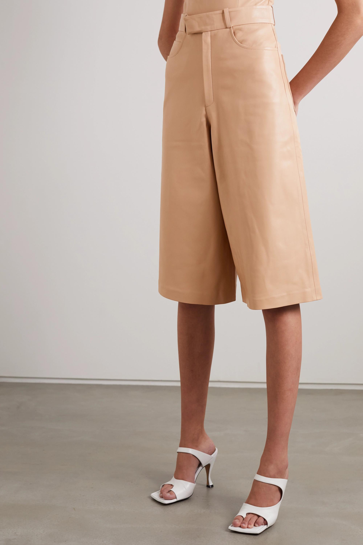 Zeynep Arcay Leather shorts