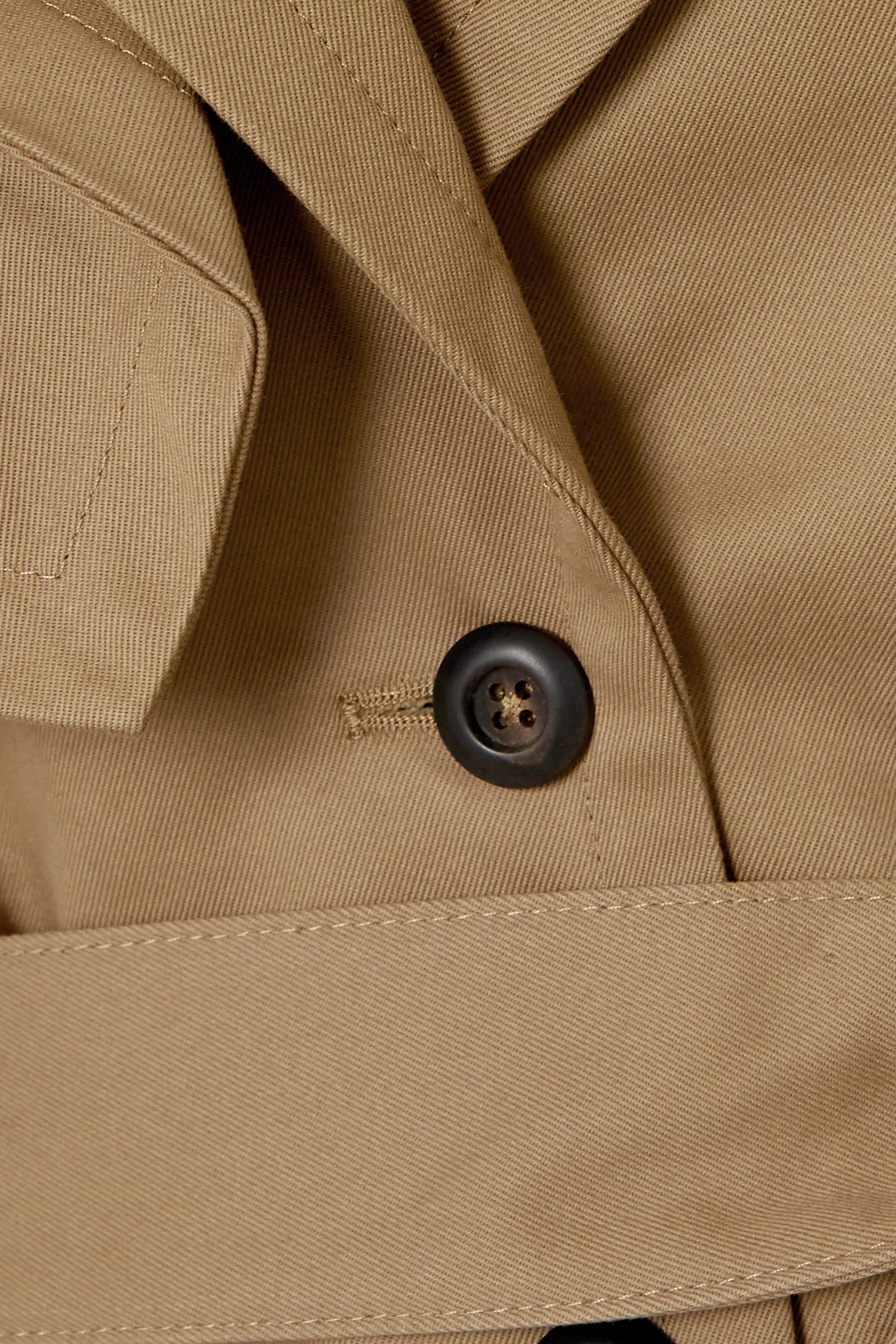 palmer//harding Cebus wandelbarer Trenchcoat aus Baumwolldrillich