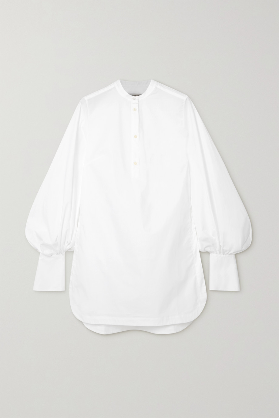 palmer//harding Kapori Hemd aus Popeline aus einer Baumwollmischung