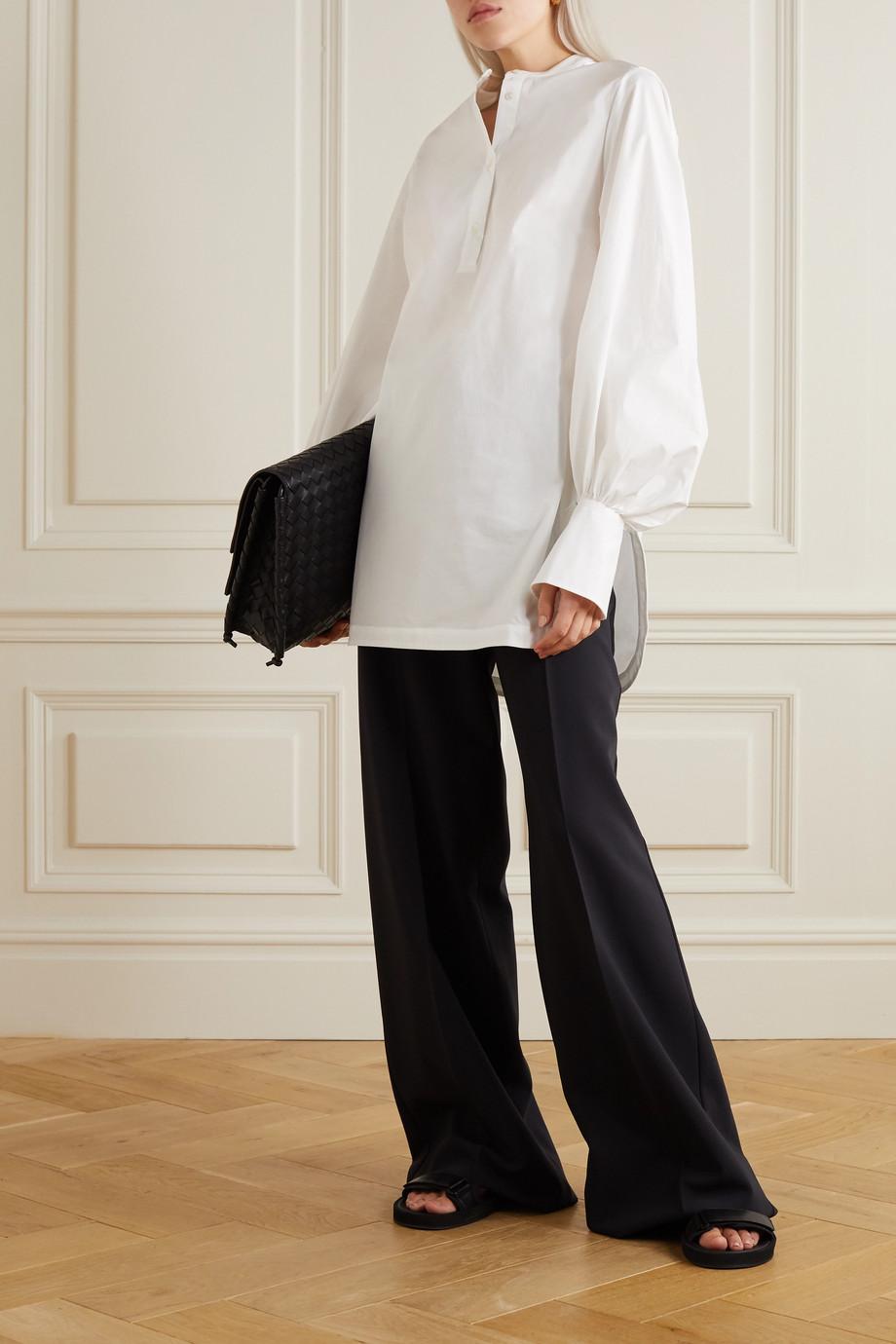 palmer//harding Kapori cotton-blend poplin shirt