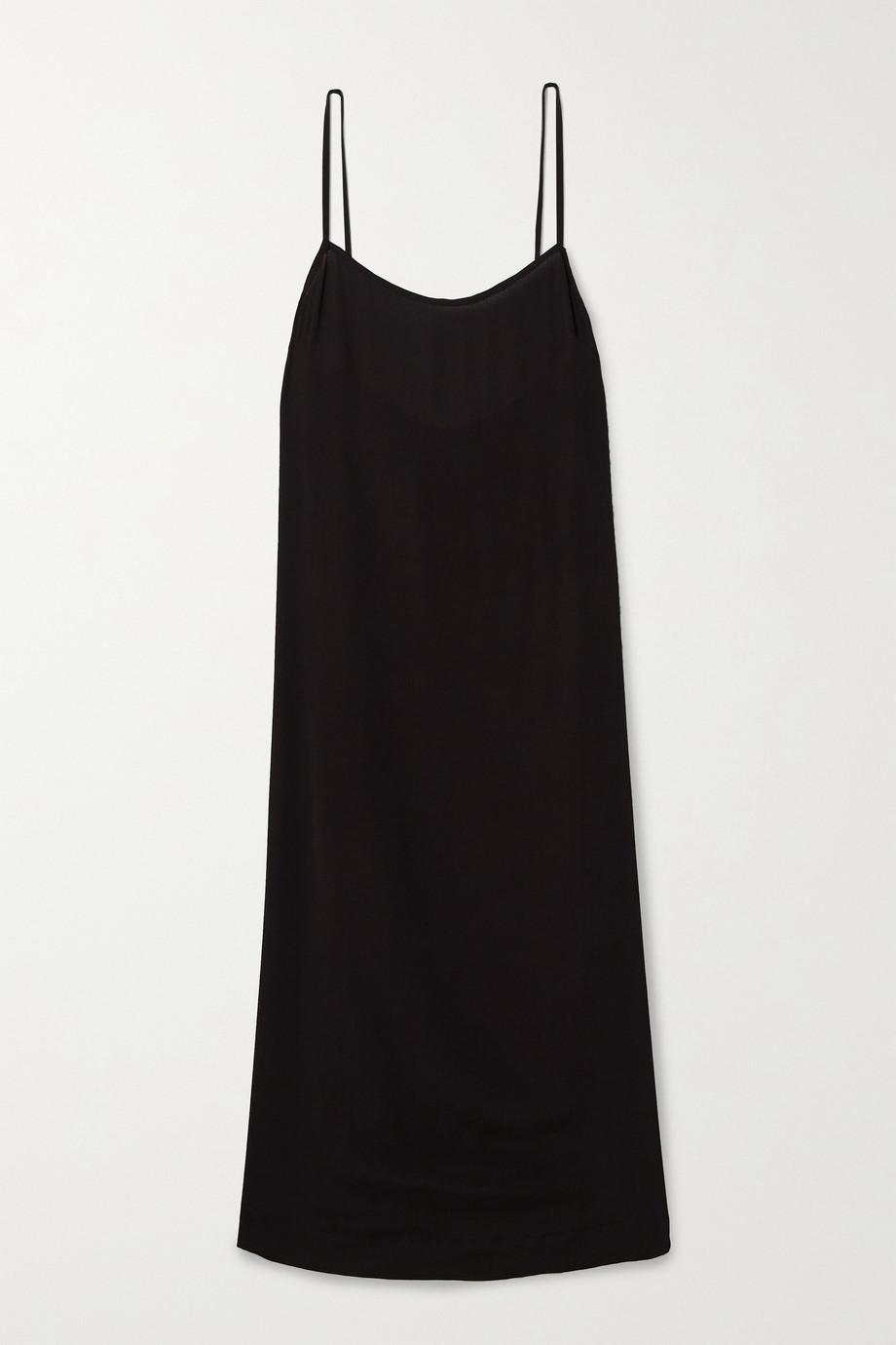 Haight Clara crepe midi dress