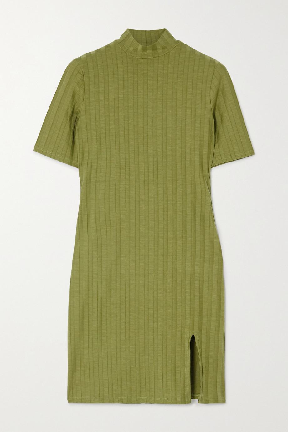 Reformation Mini-robe en Tencel stretch côtelé Dua - NET SUSTAIN