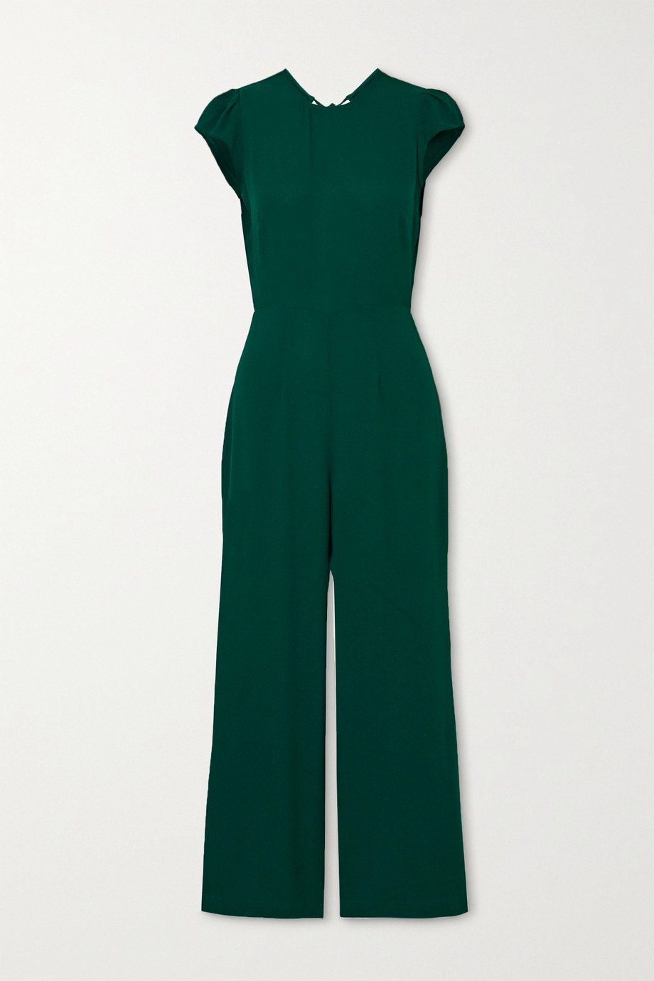 Reformation + NET SUSTAIN Mayer open-back crepe jumpsuit