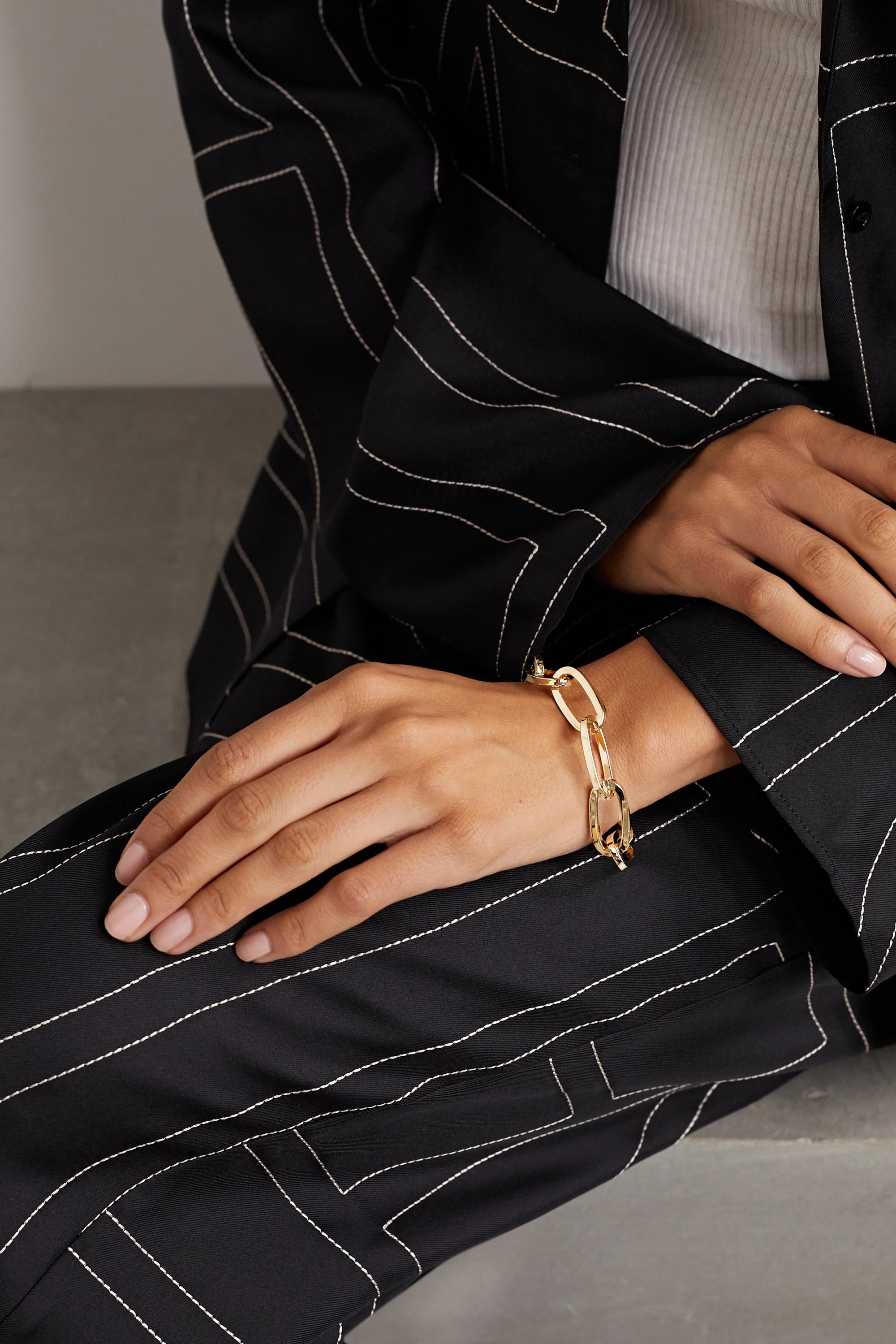 Jennifer Fisher Essential gold-plated bracelet