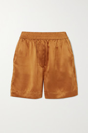 Bleecker silk shorts