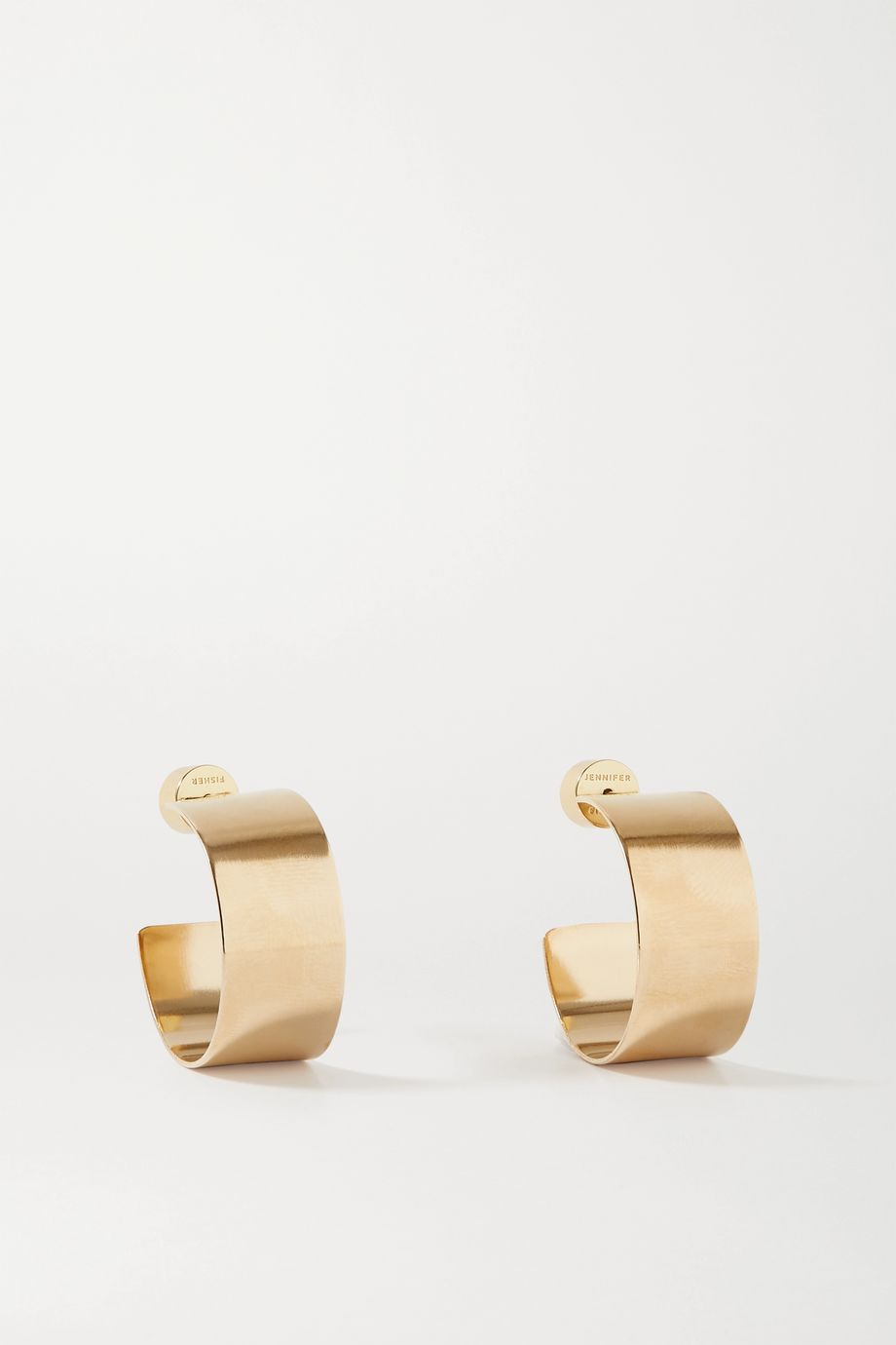 Jennifer Fisher Mini Missy gold-plated hoop earrings