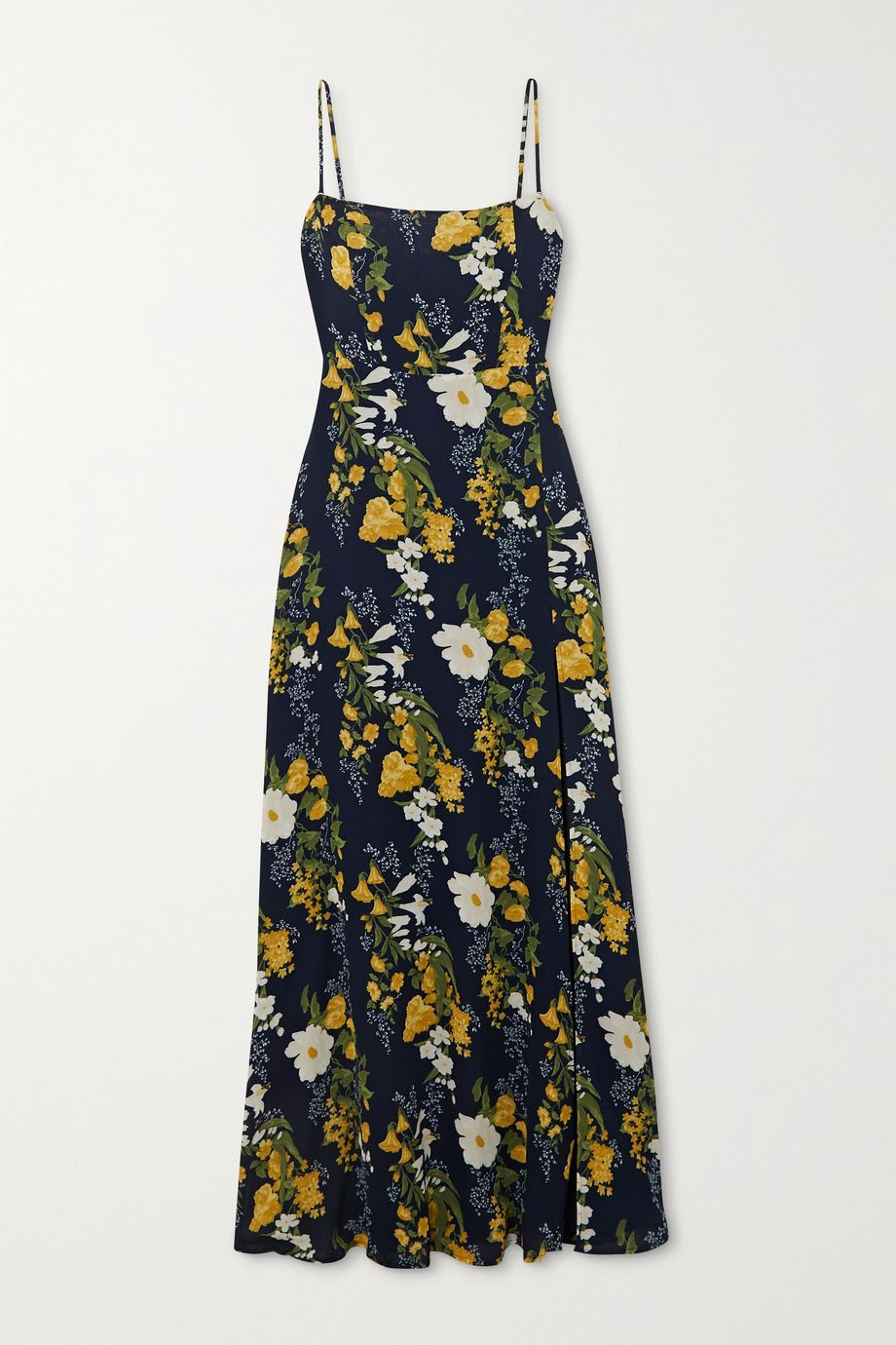 Reformation + NET SUSTAIN Ingrid floral-print georgette maxi dress