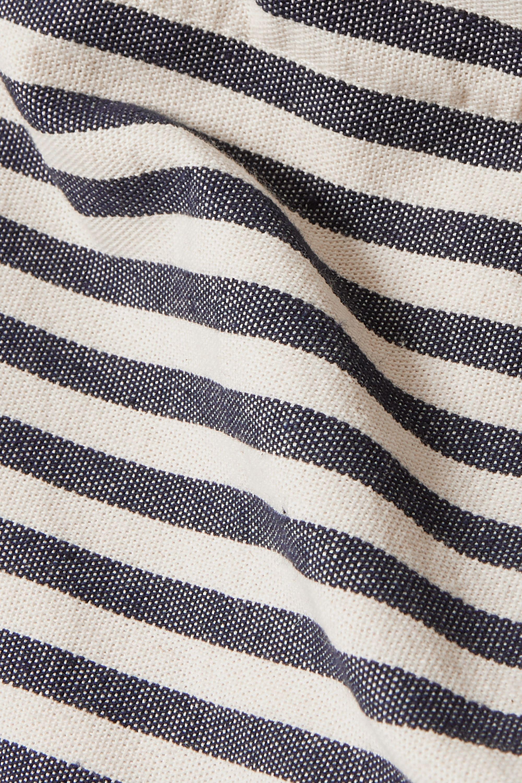 Nannacay Cascata striped canvas tote