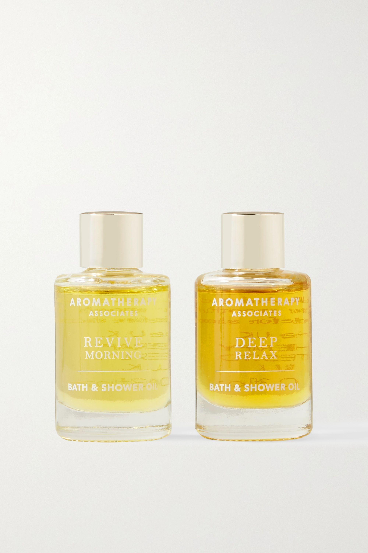 Aromatherapy Associates Perfect Partners Essential Bath & Shower Oils, 2 x 9ml