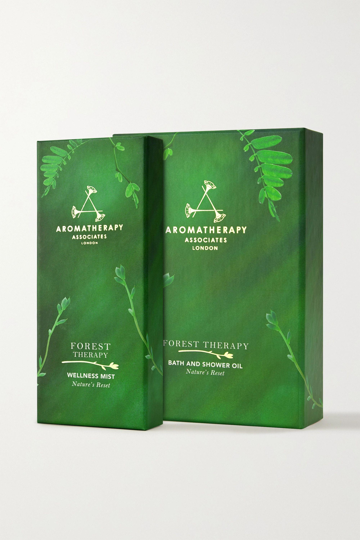 Aromatherapy Associates Set huile pour le bain et brume bien-être Forest Therapy
