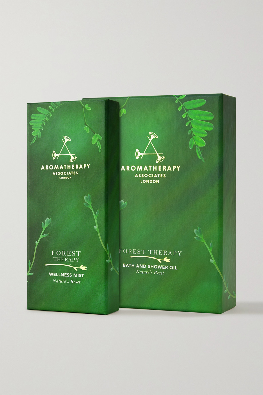 Aromatherapy Associates Forest Therapy Wellness Mist & Bath Oil Set