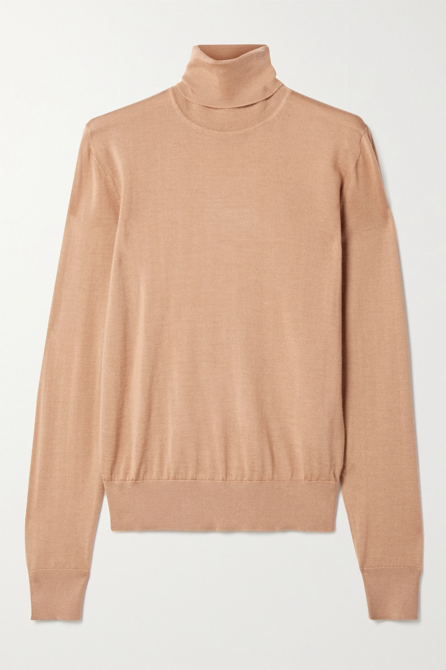 Dolce & Gabbana Cashmere and silk-blend turtleneck sweater