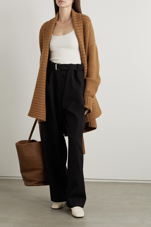 Dolce & Gabbana Belted cashmere cardigan
