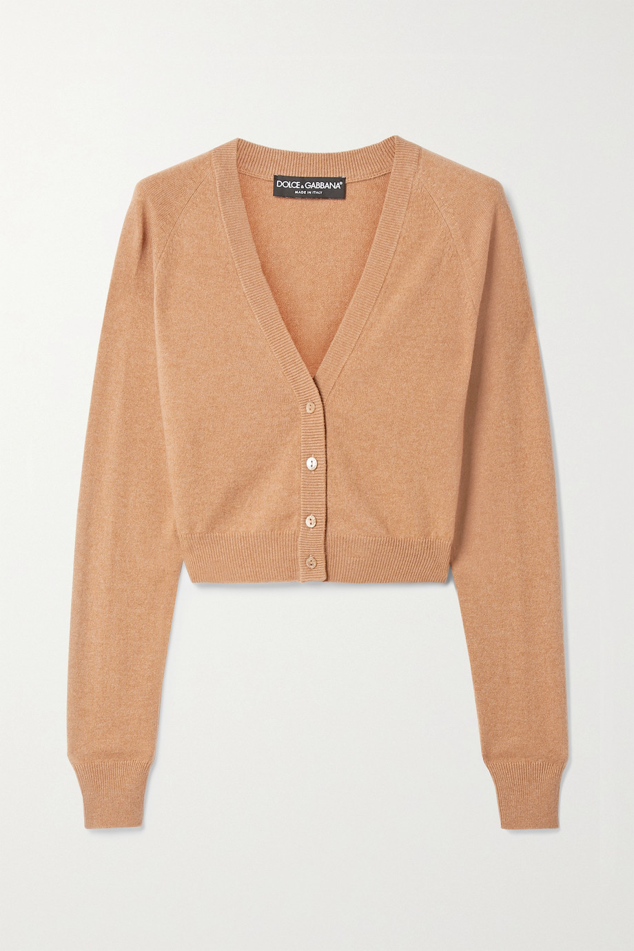 Dolce & Gabbana Cropped cashmere cardigan