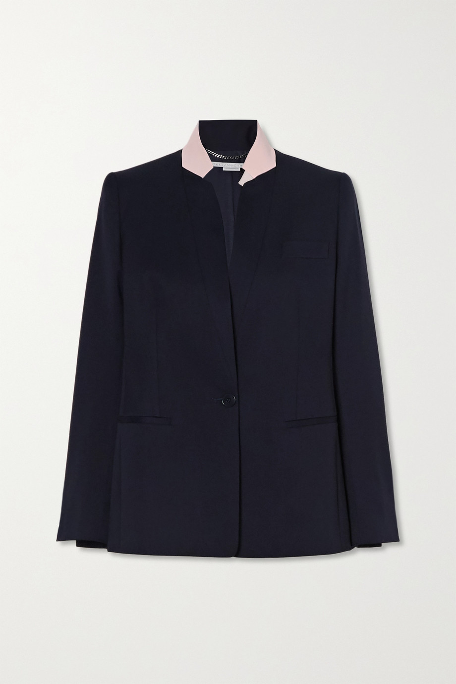 Stella McCartney Florence two-tone wool blazer
