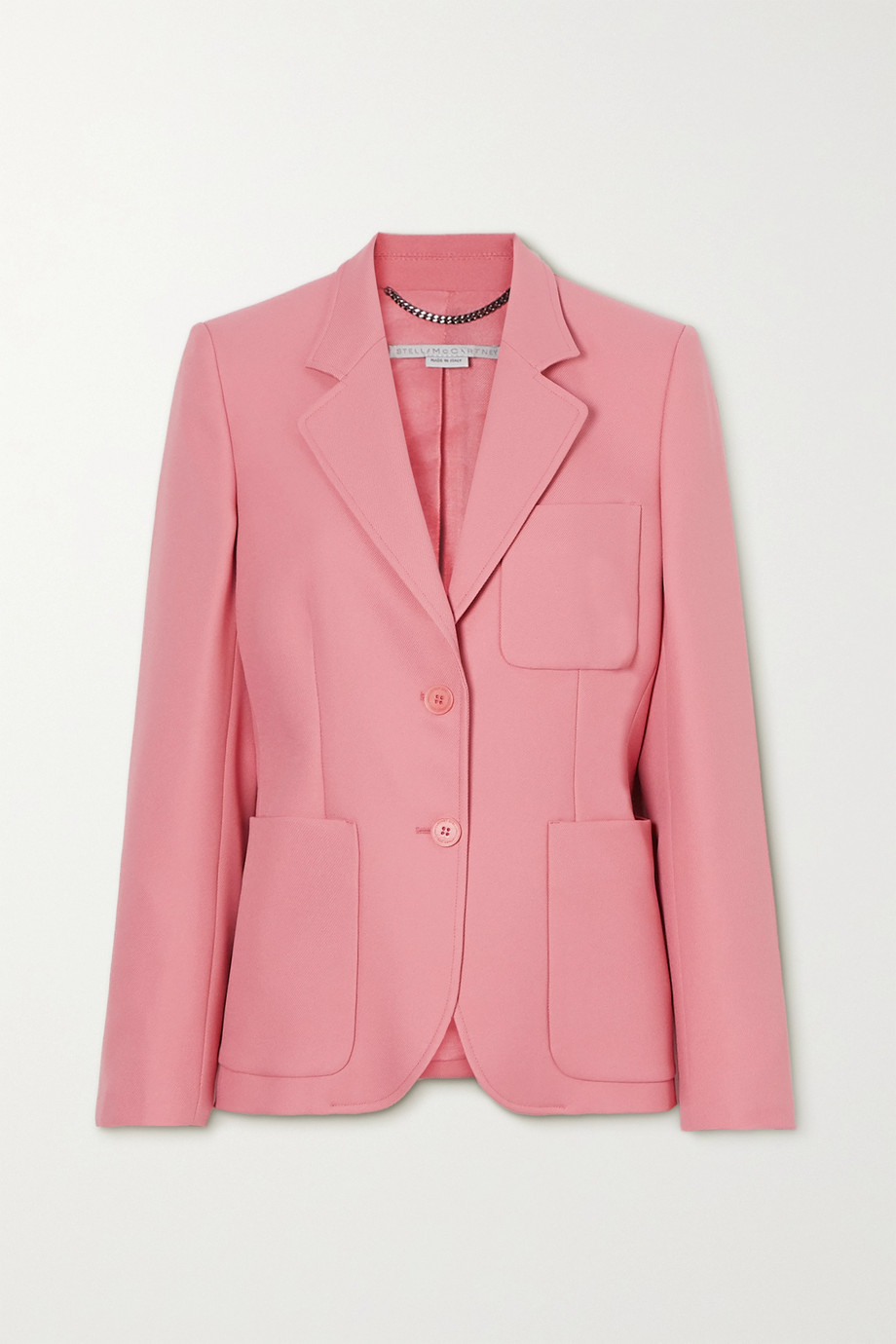 Stella McCartney + NET SUSTAIN Eleanor twill blazer
