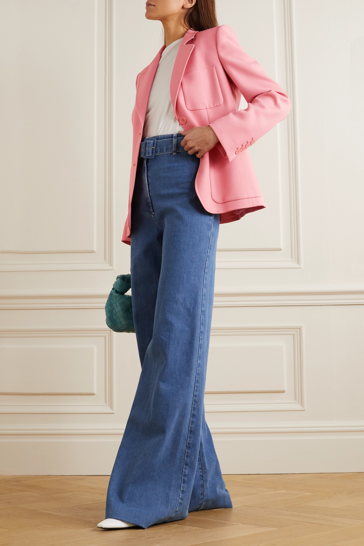 Stella McCartney + NET SUSTAIN Eleanor twill blazer