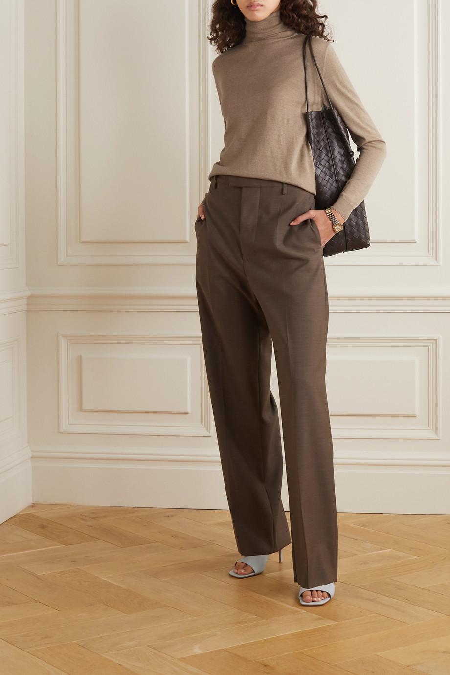 Stella McCartney Rollkragenpullover aus Schurwolle