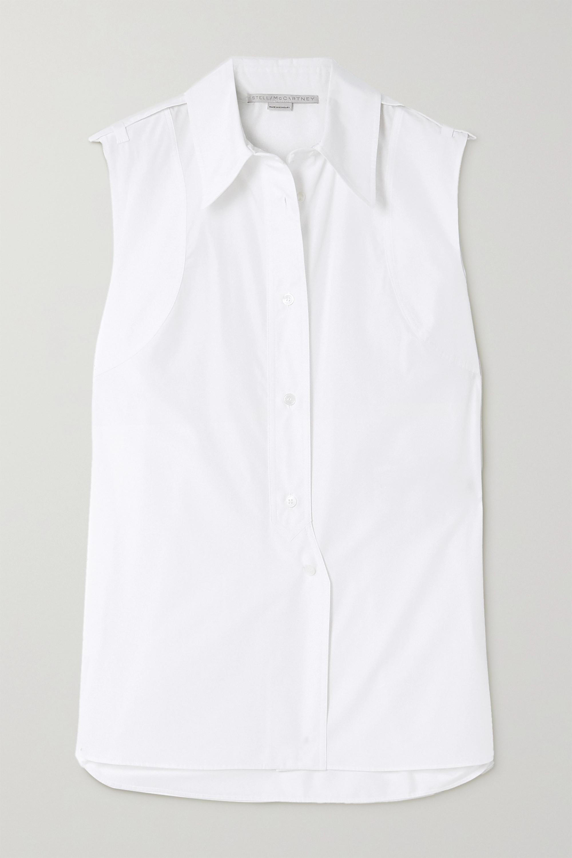 Stella McCartney Talla cotton-poplin shirt