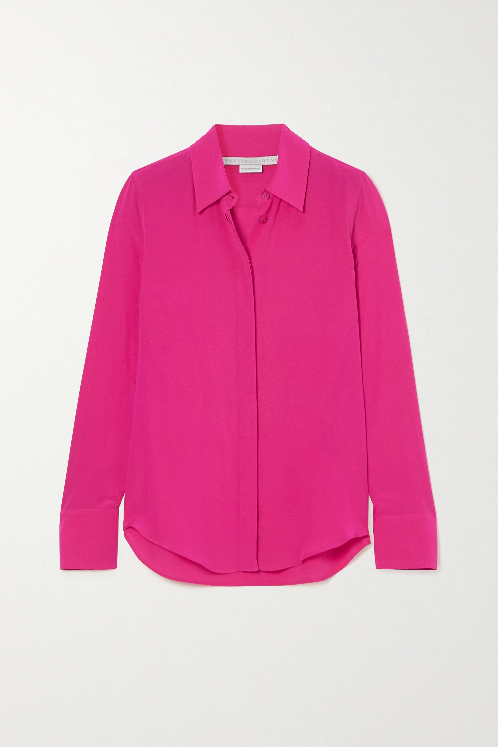 Stella McCartney Willow silk crepe de chine shirt