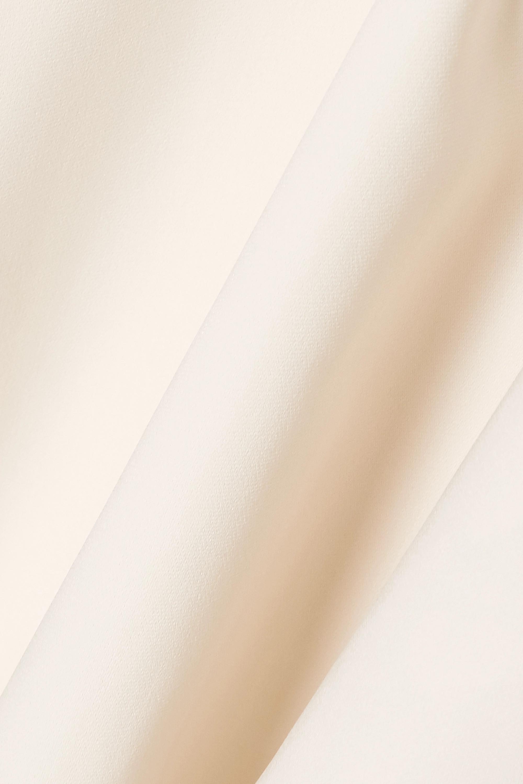 Cream Arlesa Crepe Top | Stella Mccartney