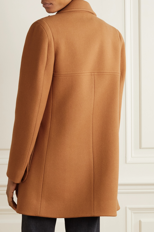 Stella McCartney Nyla double-breasted wool-felt coat