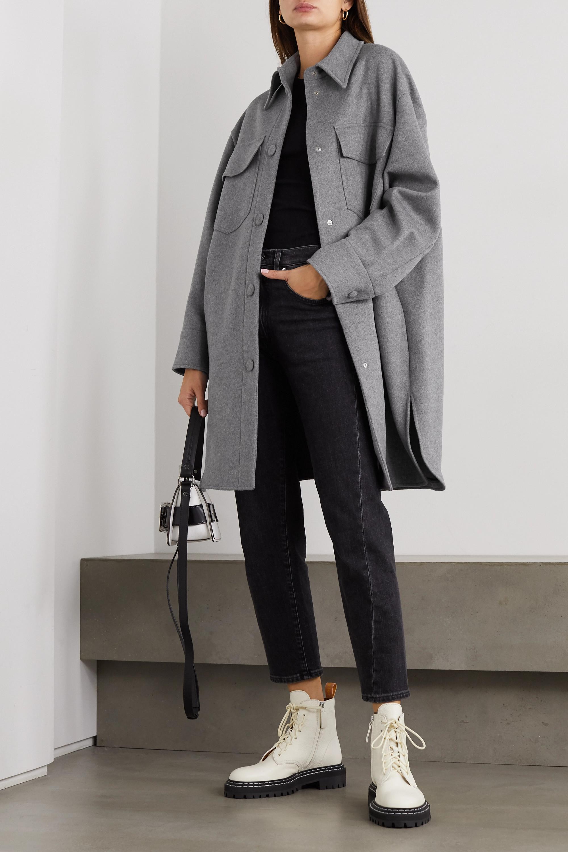 Stella McCartney Kerry oversized wool-felt coat