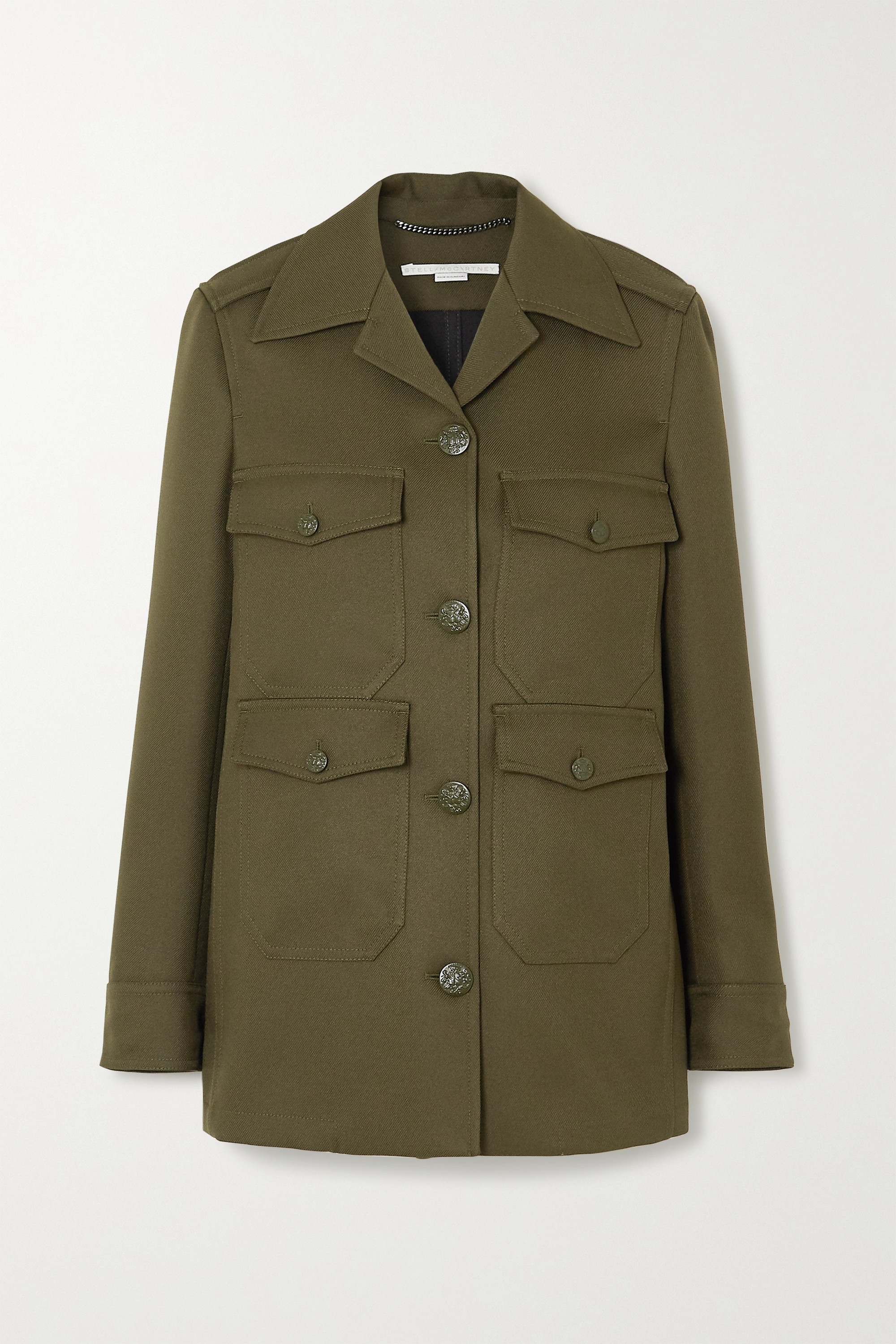 Stella McCartney Eliza twill jacket