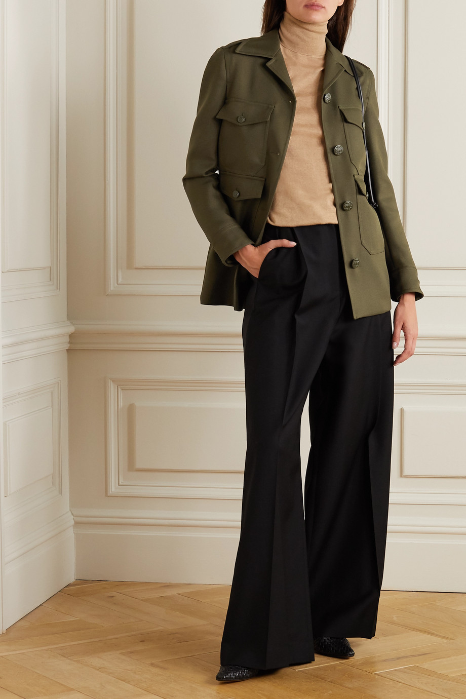 Stella McCartney Eliza twill jacket