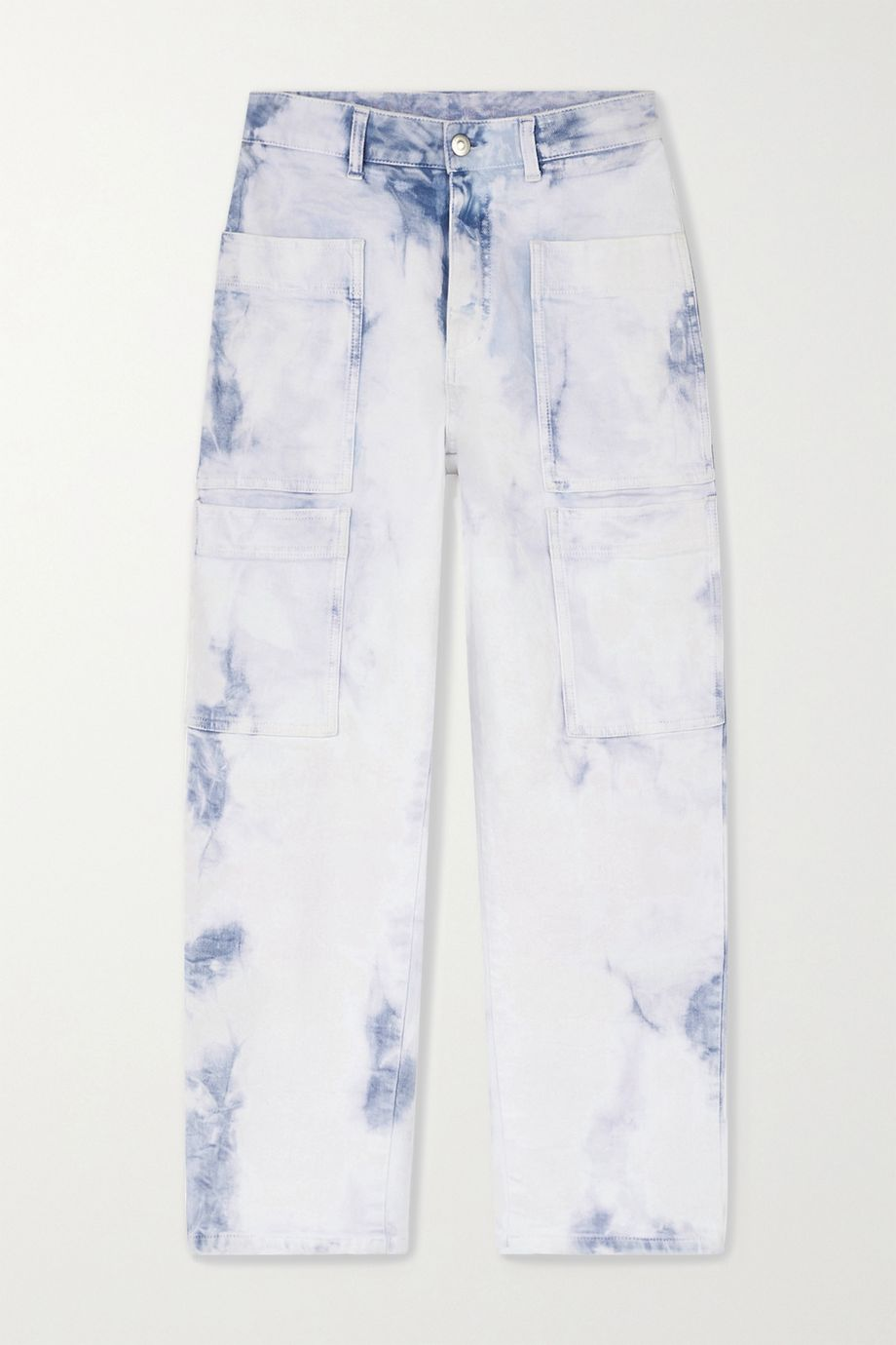 Stella McCartney Acid-wash boyfriend jeans